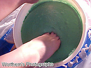 This like dipping your toe in the water, but only this time it's a bowl of green slime.