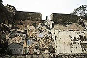 Asia, Southeast, People's Republic of China, Macau Outer wall of Macau Fortress