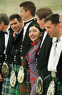 Jai Simeone from the TV favourites Supergirly makes new friends outside Our Dynamic Earth in Edinburgh where Supergirly were warming up for Sunday's Skoda Fringe Gala. Other celebrities who will be appearing include Boy George and Lady Salsa. ......