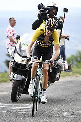 July 8, 2017 - Station Des Rousses, FRANCE - Dutch Robert Gesink of Team Lotto NL - Jumbo pictured in action during the eighth stage of the 104th edition of the Tour de France cycling race, 187,5km from Dole to Station des Rousses, France, Saturday 08 July 2017. This year's Tour de France takes place from July first to July 23rd. BELGA PHOTO YORICK JANSENS (Credit Image: © Yorick Jansens/Belga via ZUMA Press)