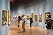 The late 19th century gallery at Crystal Bridges Museum of American Art on Monday, June 10, 2013, in Bentonville, Ark.