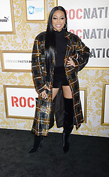 Monica attending Roc Nation's The Brunch at One World Trade Center in New York City, NY, USA, on January 27, 2018. Photo by Dennis van Tine/ABACAPRESS.COM