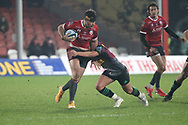 GLOUCESTER RUGBY'S Mark Atkinson  during the Gallagher Premiership Rugby match between Gloucester Rugby and Harlequins at the Kingsholm Stadium, Gloucester, United Kingdom on 6 December 2020.
