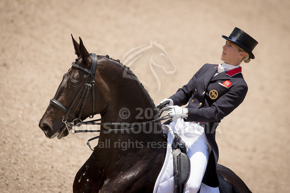 Laura Tomlinson (GBR) & Rosalie B - Dressage Grand Prix - CDIO5 - CHIO Rotterdam 2016 - Kralingse Bos, Rotterdam, Netherlands - 23 June 2016
