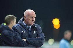 Falkirk's manager Peter Houston. Falkirk 3 v 1 St Mirren, Scottish Championship game played 3/12/2016 at The Falkirk Stadium .