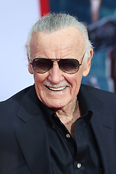 Stan Lee arrives to the premiere of 'Iron Man 3' in Hollywood, Los Angeles, CA, USA on April 24, 2013. Photo by Krista Kennell/ABACAPRESS.COM