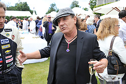 Singer BRIAN JOHNSON at a luncheon hosted by Cartier for their sponsorship of the Style et Luxe part of the Goodwood Festival of Speed at Goodwood House, West Sussex on 1st July 2012.