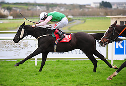 Maze Runner and jockey Colin Keane win the John Mulholland Bookmakers Handicap during day three of the October Festival at Galway Racecourse.