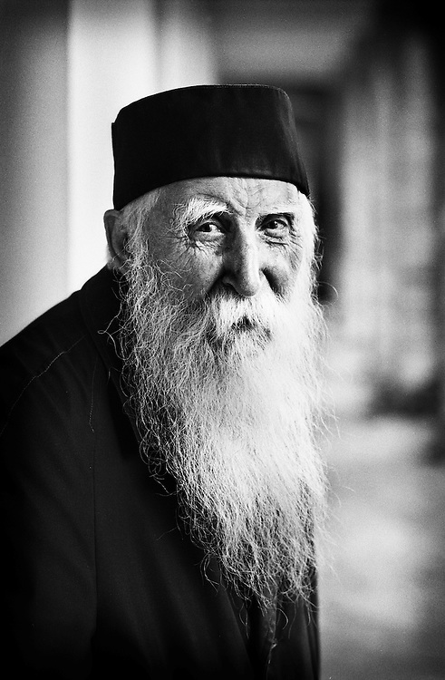 Neamt County, Romania July 2007<br /> Father Ivan, 92 years old.<br /> Photo: Ezequiel Scagnetti