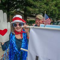 Fourth of July Parade down Main Street in Half Moon Bay, California, 2018.