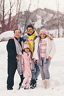 Amazing time with the Huerta family in Aspen, Colorado.