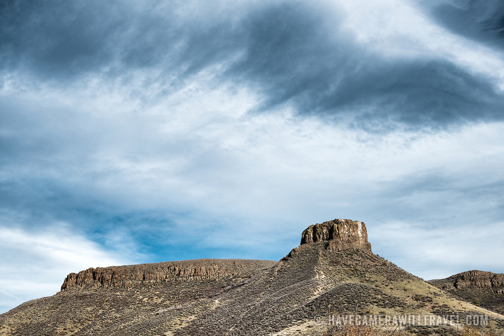 Table Mountain, a mesa on the eastern side of the Rocky Mountains, next to Golden, Colorado.