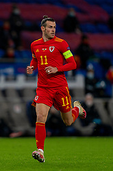 CARDIFF, WALES - Sunday, November 15, 2020: Wales' captain Gareth Bale during the UEFA Nations League Group Stage League B Group 4 match between Wales and Republic of Ireland at the Cardiff City Stadium. Wales won 1-0. (Pic by David Rawcliffe/Propaganda)