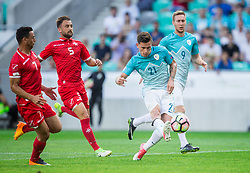 Benjamin Verbic of Slovenia during football match between National teams of Slovenia and Malta in Round #6 of FIFA World Cup Russia 2018 qualifications in Group F, on June 10, 2017 in SRC Stozice, Ljubljana, Slovenia. Photo by Vid Ponikvar / Sportida