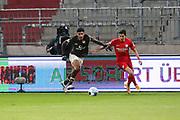 Fussball: 2. Bundesliga, FC St. Pauli - VFL Bochum, Hamburg, 28.01.2021<br /> Spielszene, TV-Kamera<br /> © Torsten Helmke