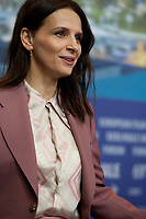 Actress Juliette Binoche at the press conference for the film Who You Think I Am (Celle Que Vous Croyez) at the 69th Berlinale International Film Festival, on Sunday 10th February 2019, Hotel Grand Hyatt, Berlin, Germany.