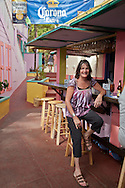 Mamacita's guesthouse has a  waterfront cafe hidden down a colorful alley.