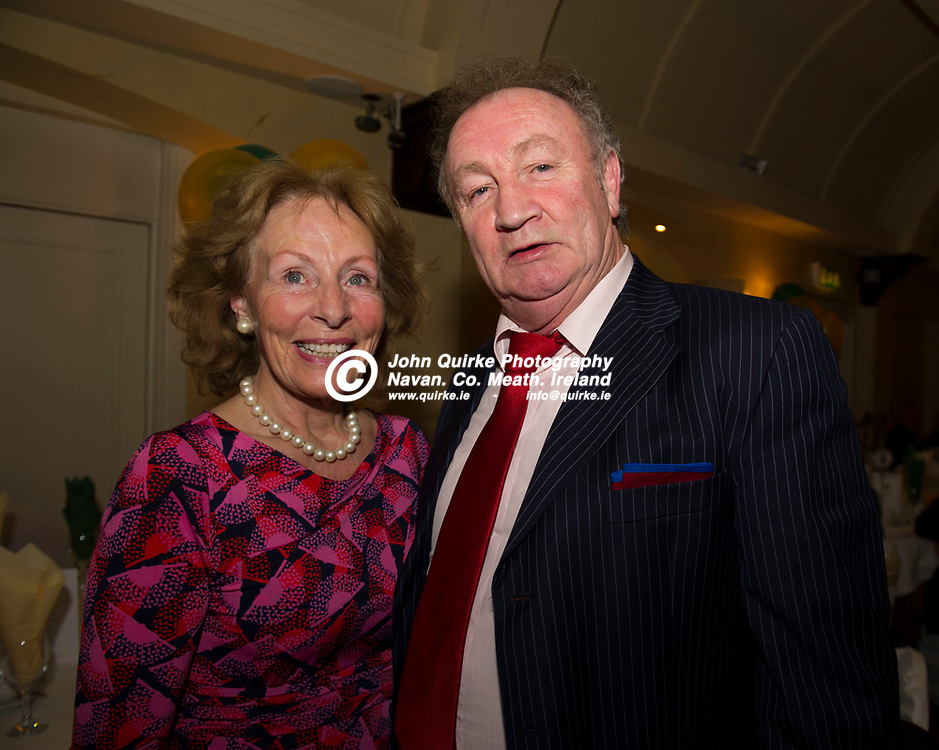08-12-19. Meath GAA Annual Sponsors Night and Awards Presentation 2019 at the Castle Arch Hotel, Trim.<br /> Annette Halton and Philip Meade, Lobinstown.<br /> Photo: John Quirke / www.quirke.ie<br /> ©John Quirke Photography, Unit 17, Blackcastle Shopping Cte. Navan. Co. Meath. 046-9079044 / 087-2579454.