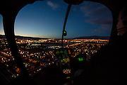 Helicopter flight over Las Vegas, Nevada