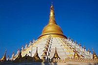 Myanmar (Birmanie), Pegu (Bago), la pagode Paya Mahazedi // Myanmar (Burma), Pegu or Bago, Mahazedi paya
