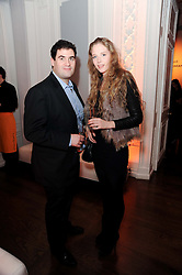 ZARAF RUSHDIE and NATHALIE SORRELL at the presentation of the Veuve Clicquot Business Woman Award 2010 held at the Institute of Contemporary Arts, 12 Carlton House Terrace, London on 23rd March 2010.  The winner was Laura Tenison - Founder and Managing Director of JoJo Maman Bebe.