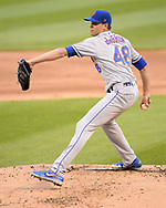 CHICAGO - JULY 31:  Jacob deGrom #48 of the New York Mets pitches against the Chicago White Sox on July 31, 2019 at Guaranteed Rate Field in Chicago, Illinois.  (Photo by Ron Vesely)  Subject:   Jacob deGrom