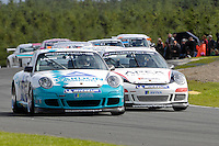 2009 Porsche Carrera Cup Great Britain.  Knockhill, Scotland, United Kingdom.  15th-16th August 2009.  (25) - Robert Lawson - JHR.  World Copyright: Peter Taylor/PSP. Copy of publication required for printed pictures. Every used picture is fee-liable.