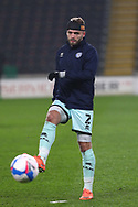 Ryan McLaughlin  during the EFL Sky Bet League 1 match between Hull City and Rochdale at the KCOM Stadium, Kingston upon Hull, England on 2 March 2021.
