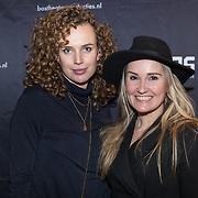 NLD/Amsterdam/20180222 - Premiere Vele Hemels boven de Zevende, Kim Pieters en Peggy Vrijens
