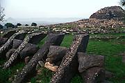 nuraghe, Sardinia.neg