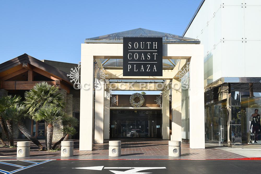 South Coast Plaza East Entrance