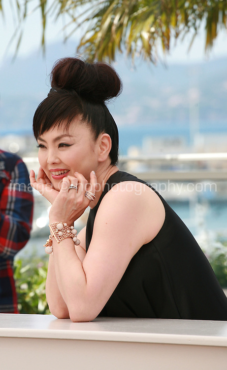 Actress Miyuki Matsuda at the photo call for the film Still The Water (Futatsume No Mado), at the 67th Cannes Film Festival, Tuesday 20th May 2014, Cannes, France.