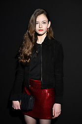 Mackenzie Foy attends the Saint Laurent show as part of the Paris Fashion Week Womenswear Fall/Winter 2019/2020 on February 26, 2019 in Paris, France. Photo by Laurent Zabulon/ABACAPRESS.COM