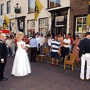 NLD/Naarden/20050527 - huwelijk jongste zus Rene Froger
