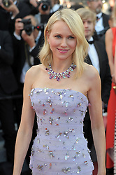 Naomi Watts at the screening of the film Cafe Society and the Opening Ceremony at the 69th international film festival, Cannes, southern France, Wednesday, May 11, 2016.