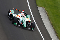 May 18, 2018 - Indianapolis, Indiana, United States of America - KYLE KAISER (32) of the United States brings his car through turn one during ''Fast Friday'' practice for the Indianapolis 500 at the Indianapolis Motor Speedway in Indianapolis, Indiana. (Credit Image: © Chris Owens Asp Inc/ASP via ZUMA Wire)