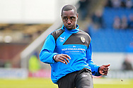 Notts County forward Jonathan Forte (14) warming up before the EFL Sky Bet League 2 match between Chesterfield and Notts County at the Proact stadium, Chesterfield, England on 25 March 2018. Picture by Nigel Cole.
