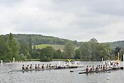 Henley, GREAT BRITAIN,   Start area , Temple Island. 2010 Henley Royal Regatta. 11:38:05  Wednesday  30/06/2010.  [Mandatory Credit: Peter Spurrier / Intersport-images] Rowing Courses, Henley Reach, Henley, ENGLAND . HRR.