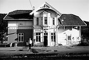 Railwaystation in Norway.