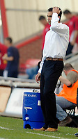 Photo: Leigh Quinnell.<br /> AFC Bournemouth v Swansea City. Coca Cola League 1. 14/04/2007. Swansea boss Roberto Martinez unhappy with his team.