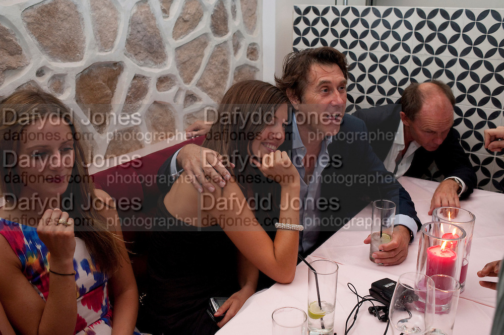 AMANDA SHEPPARD; BRYAN FERRY, Prada Congo Benefit party. Double Club. Torrens Place. Angel. London. 2 July 2009.