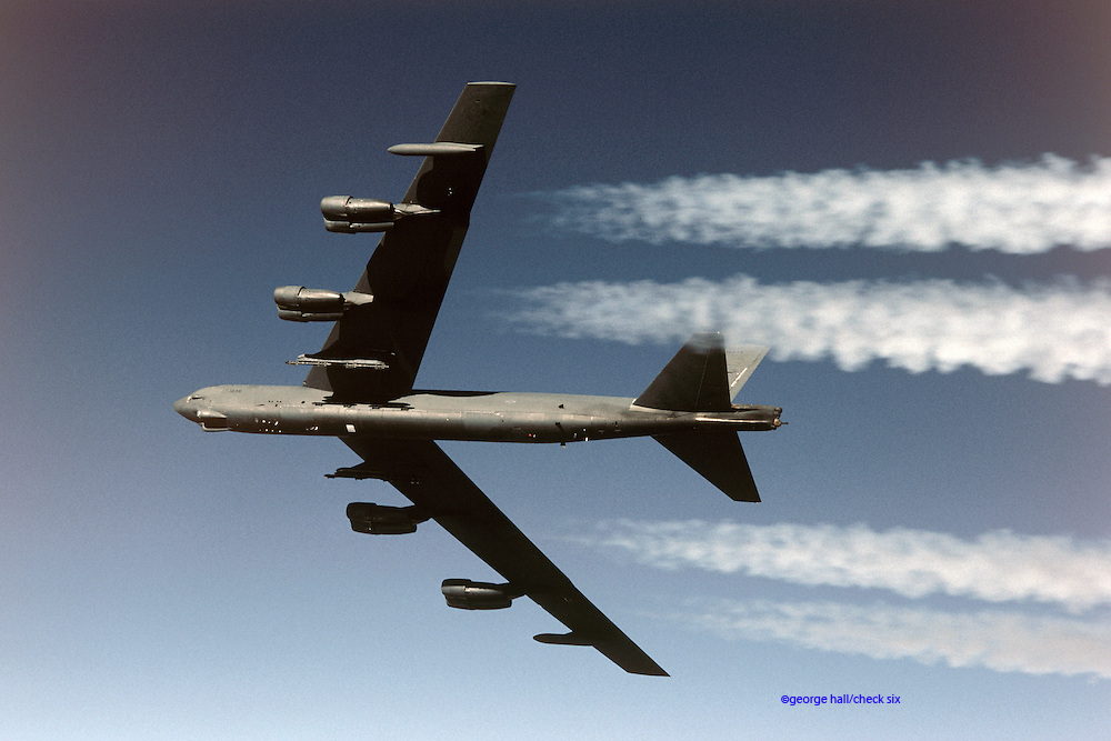 B-52H high altitude