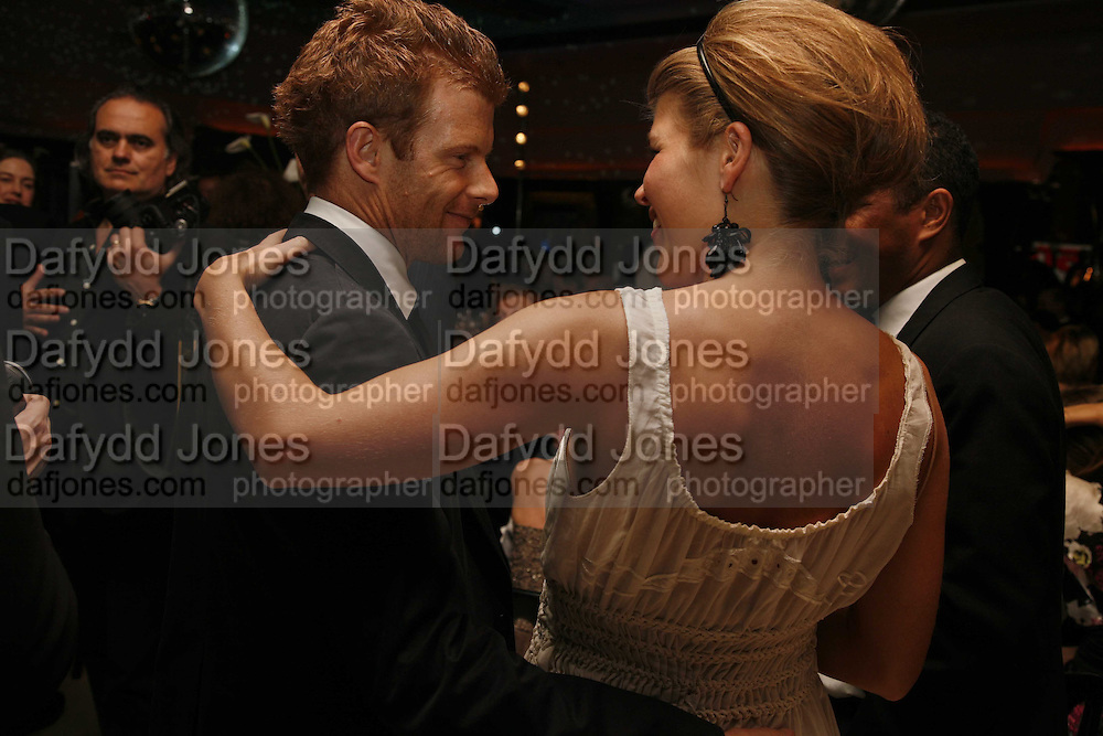 Tom Aikens and Amber Nuttall, Royal Court Theatre 50th Anniversary Gala sponsored by Vanity Fair. Titanic. Brewer St. London. 26 April 2006. ONE TIME USE ONLY - DO NOT ARCHIVE  © Copyright Photograph by Dafydd Jones 66 Stockwell Park Rd. London SW9 0DA Tel 020 7733 0108 www.dafjones.com