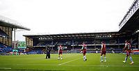 Football - 2019 / 2020 Premier League - Everton vs Aston Villa<br /> <br /> Jack Grealish of Aston Villa leads out the team at Goodison Park<br /> <br /> COLORSPORT/LYNNE CAMERON