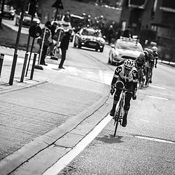 25-02-2017: Wielrennen: Omloop Het Nieuwsblad: Gent  <br /> De beslissende aanval van Lucinda Brand die haar de overwinning brengt