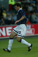 Fotball<br /> Landskamp Ullevaal Stadion 20.08.2003<br /> Norge v Skottland<br /> Stephen Crawford - Dunfermline<br /> Foto: Morten Olsen, Digitalsport