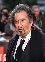 Al Pacino attending the Closing Gala and International premiere of The Irishman, held as part of the BFI London Film Festival 2019, London. Photo credit should read: Doug Peters/EMPICS