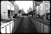 BELO HORIZONTE, MG, BRA. ..Ensaio Cidade quase fantasma. ..Trincheira entre a R. Rio Grande do Norte, Av. do Cortono e Av Nossa Senhora do Carmo..Foto: RODRIGO LIMA