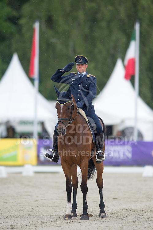 Andreas Ostholt (GER) & Pennsylvania 28 - Dressage - CIC3* - Luhmuhlen 2014 - Salzhausen, Germany - 13 June 2014