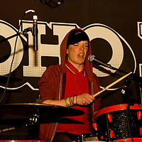 Paraffin Oil Shop performing live at Moho Live, Manchester, UK, 2010-10-29
